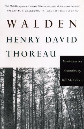Walden   2004 (Annotated) edition cover