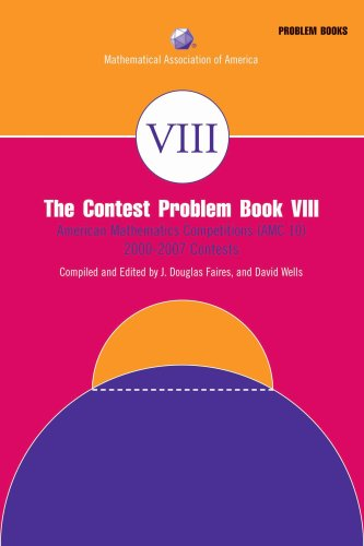 Contest Problem Book American Mathematics Competitions (AMC 10) 2000-2007  2008 9780883858257 Front Cover