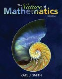 Nature of Mathematics:   2016 9781133947257 Front Cover