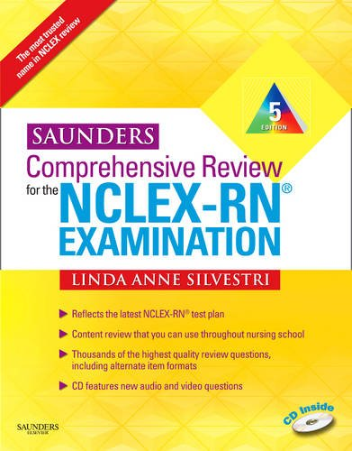 Saunders Comprehensive Review for the NCLEX-RN� Examination  5th 2010 edition cover
