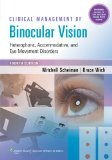 Clinical Management of Binocular Vision:   2013 edition cover