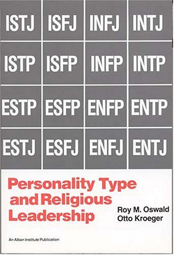 Personality Type and Religious Leadership  N/A edition cover