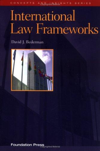 International Law Frameworks   2001 edition cover