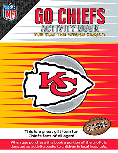 Go Chiefs Activity Book   2014 9781941788257 Front Cover