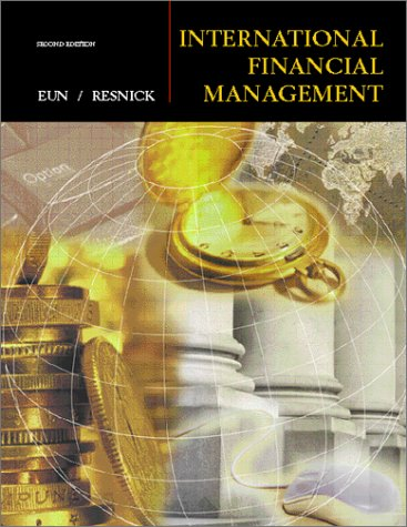 International Financial Management 2nd 2001 9780072318258 Front Cover
