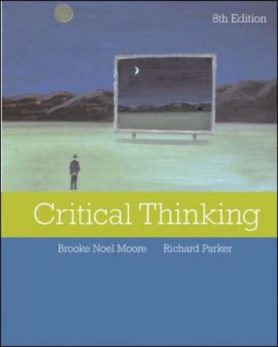 Critical Thinking  8th 2007 (Revised) 9780073126258 Front Cover