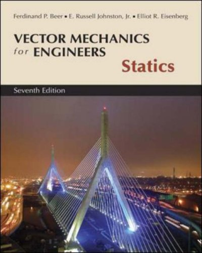 Vector Mechanics for Engineers Statics 7th 2004 (Revised) edition cover