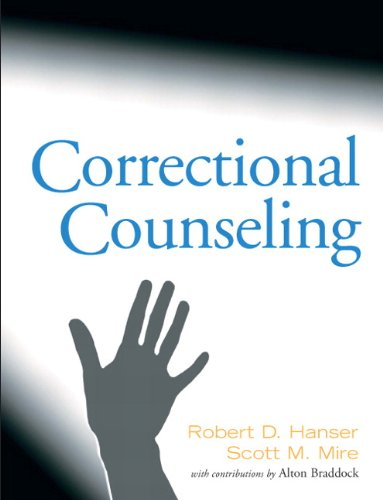 Correctional Counseling   2011 edition cover