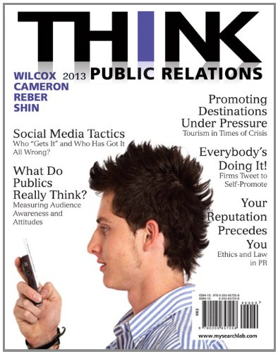 THINK Public Relations  2nd 2013 9780205857258 Front Cover