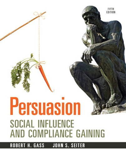 Persuasion Social Inflence and Compliance Gaining 5th 2014 edition cover
