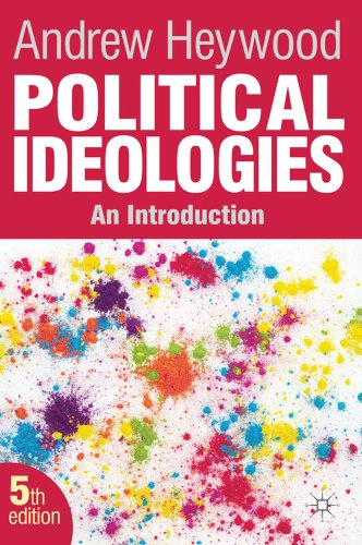 Political Ideologies An Introduction 5th 2012 (Revised) edition cover