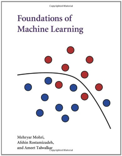 Foundations of Machine Learning   2012 edition cover