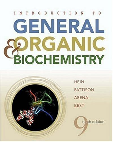 Introduction to General, Organic, and Biochemistry  9th 2009 edition cover