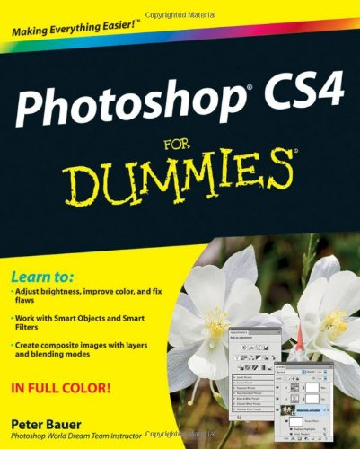 Photoshop CS4 for Dummies   2008 edition cover