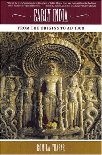 Early India From the Origins to AD 1300 N/A edition cover