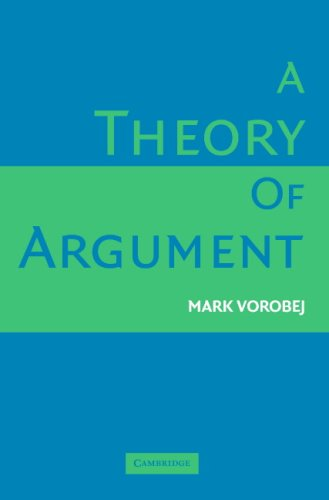 Theory of Argument   2006 9780521670258 Front Cover