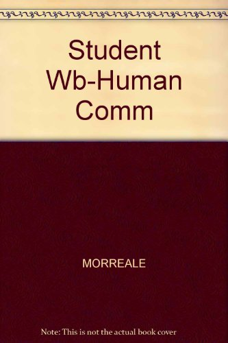 Human Communication  2001 9780534566258 Front Cover
