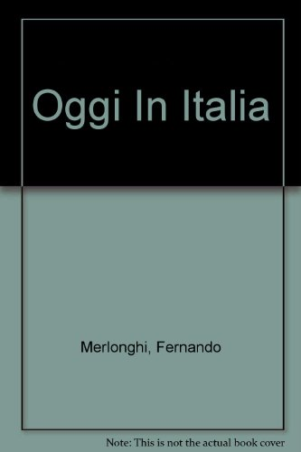 Student Lab Audio Program Used with ... Merlonghi-Oggi in Italia 7th 2002 (Student Manual, Study Guide, etc.) 9780618112258 Front Cover
