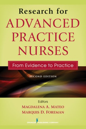 Research for Advanced Practice Nurses: From Evidence to Practice  2013 edition cover