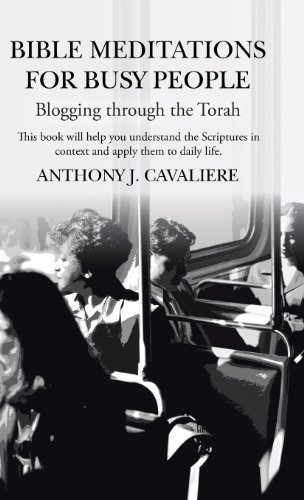 Bible Meditations for Busy People Blogging Through the Torah  2013 9781490816258 Front Cover