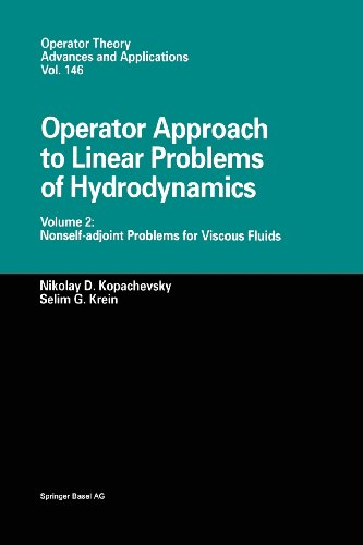 Operator Approach to Linear Problems of Hydrodynamics Nonself-Adjoint Problems for Viscous Fluids  2003 edition cover