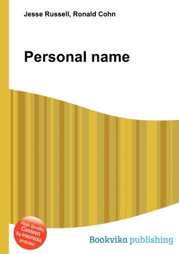 Personal Name  0 edition cover