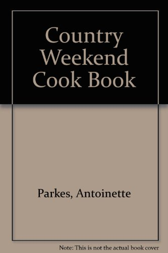 Country Weekend Cookbook   1981 edition cover