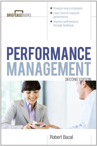 Performance Management  2nd 2012 edition cover