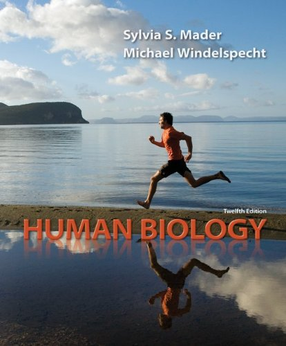 Loose Leaf Version for Human Biology  12th 2012 edition cover