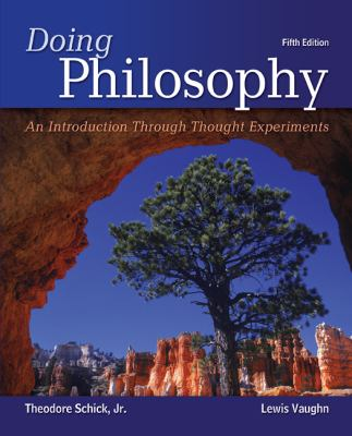 Doing Philosophy: an Introduction Through Thought Experiments  5th 2013 9780078038259 Front Cover