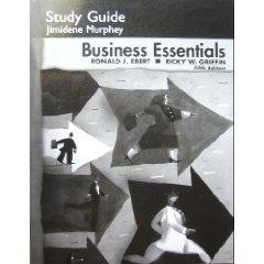 BUSINESS ESSENTIALS-STD.GDE. 5th 2005 edition cover
