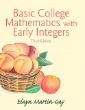 Basic College Mathematics with Early Integers Plus NEW MyMathLab with Pearson EText -- Access Card Package  3rd 2016 edition cover