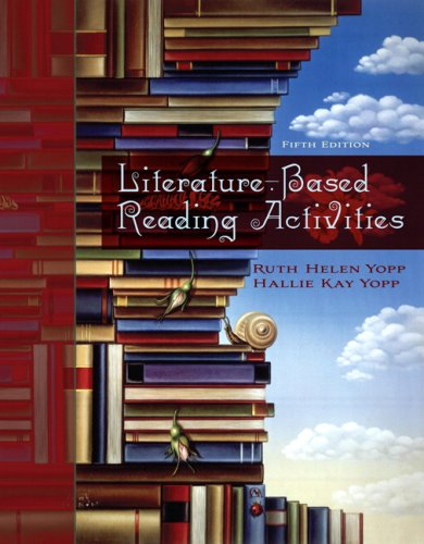 Literature-Based Activities  5th 2010 edition cover