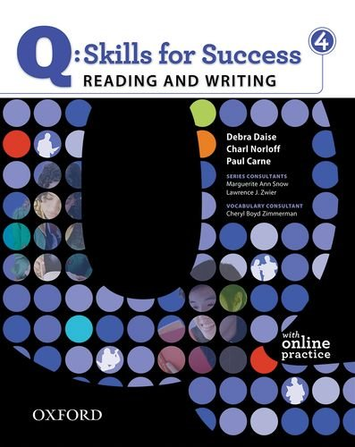 Q - Skills for Success - Reading and Writing  Student Manual, Study Guide, etc. edition cover
