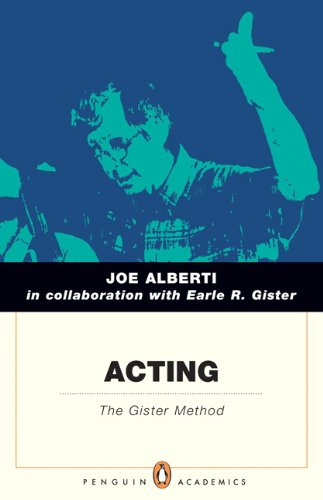 Acting The Gister Method  2013 edition cover