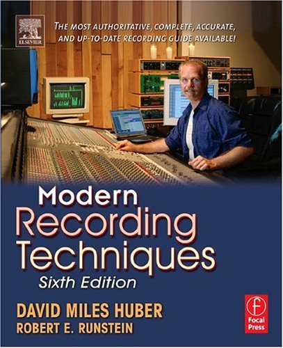 Modern Recording Techniques  6th 2005 (Revised) edition cover