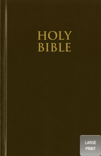 Holy BIble  Large Type  9780310435259 Front Cover
