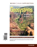 Geosystems: An Introduction to Physical Geography, Books a La Carte Edition + Plus Masteringgeography With Etext Access Card  2014 edition cover