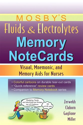 Fluids and Electrolytes Memory Notecards Visual, Mnemonic, and Memory Aids for Nurses N/A edition cover