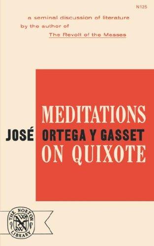 Meditations on Quixote   1963 edition cover