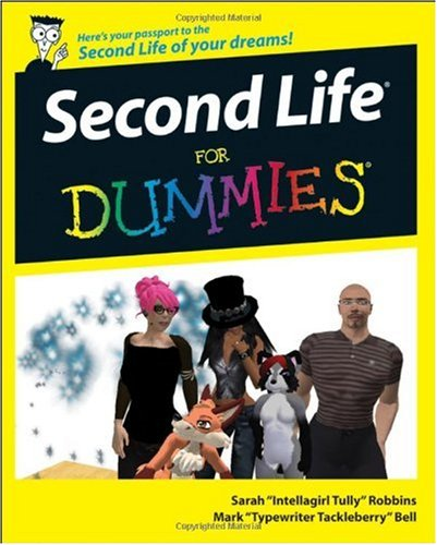 Second Life for Dummies   2008 edition cover