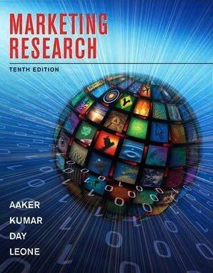 Marketing Research  10th 2010 edition cover