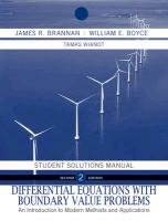 Differential Equations An Introduction to Modern Methods and Applications 2nd 2011 edition cover