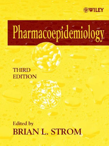 Pharmacoepidemiology  3rd 2000 (Revised) 9780471899259 Front Cover