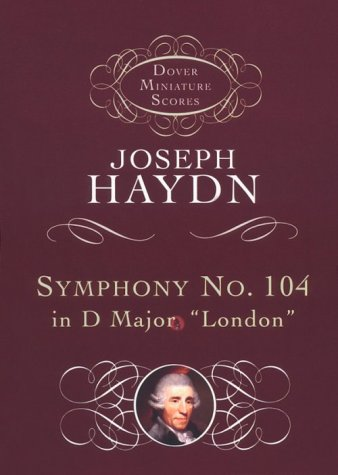 Symphony No. 104  N/A edition cover