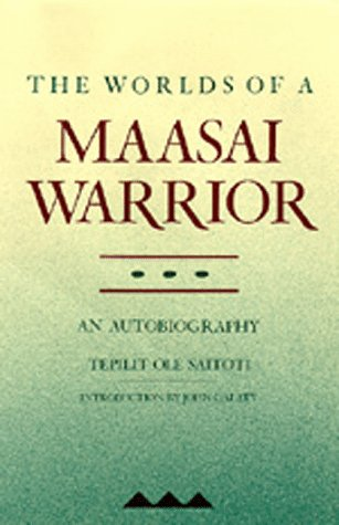Worlds of a Maasai Warrior   1988 edition cover