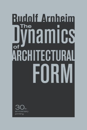 Dynamics of Architectural Form  30th 2009 (Anniversary) edition cover