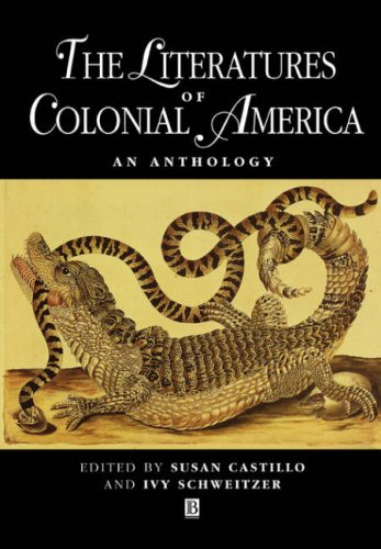 Literatures of Colonial America An Anthology  2001 edition cover