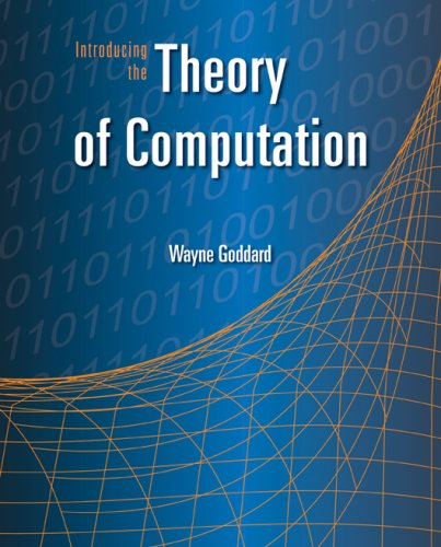 Introducing the Theory of Computation   2009 edition cover
