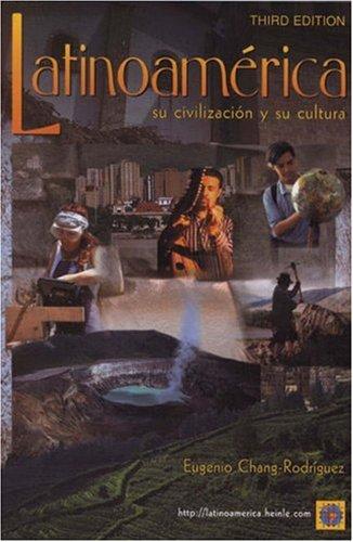 Latinoamerica Su Civilizaci�n y Su Cultura 3rd 2000 (Revised) edition cover